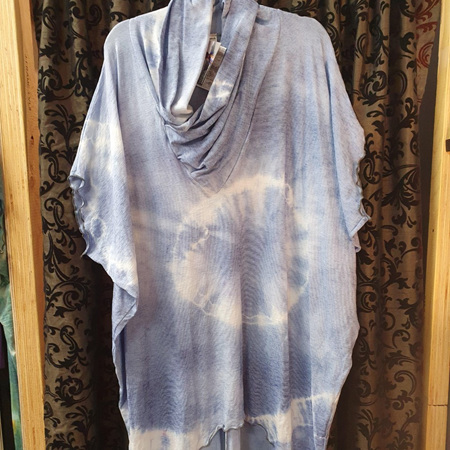 Diddy Dress with V Neck - Purples