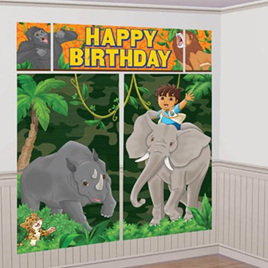 Diego Happy Birthday Wall Decorating Kit