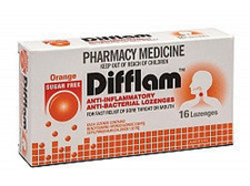 Difflam Difflam Lozenges Orange 16