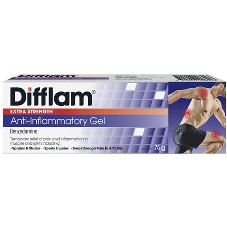 Difflam Extra Strength Anti-Inflammatory Gel 75g