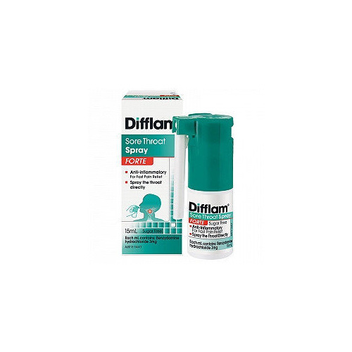 Difflam Forte AntiInflammatory Throat Spray 15Ml