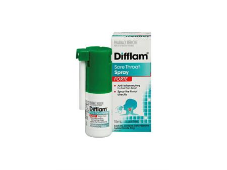 DIFFLAM Forte Sore Throat Spray 15ml