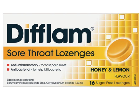 DIFFLAM Loz Lemon/Honey S/F 16