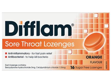 DIFFLAM Loz Orange S/F 16