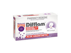 Difflam Lozenges Plus Anaesthetic Blkcurr 16