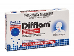 Difflam Lozenges Plus Anaesthetic Euc&Ment 16
