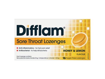 Difflam Sore Throat Lozenges 16