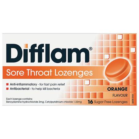 Difflam Sore Throat Lozenges