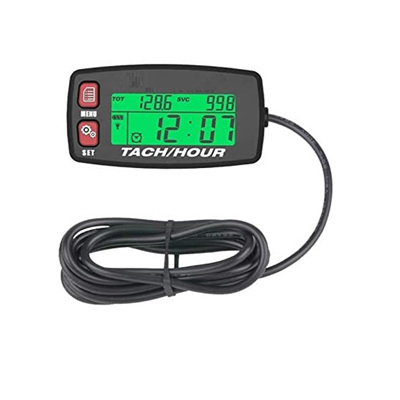 Digital Tachometer / Hour meter