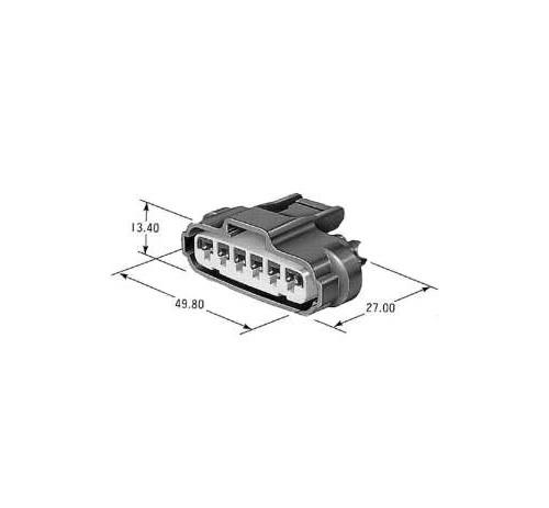 dimensions coild connector Tou