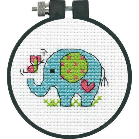 Dimensions Embroidery Kit - Elephant