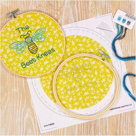 Dimensions Embroidery Kit - The Bee's Knees