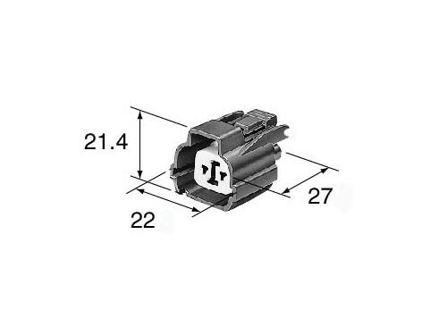 dimensions Kawasaki cam sensor connector