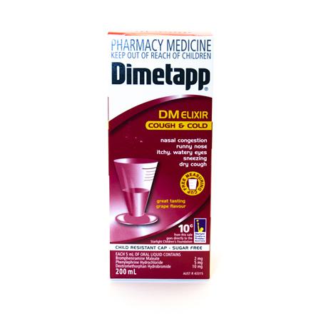 Dimetapp Cough & Cold