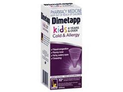 DIMETAPP Kids Cold 200ML Purple