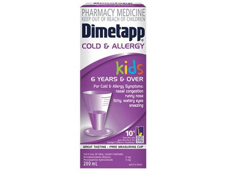 Dimetapp Kids Cold & Allergy