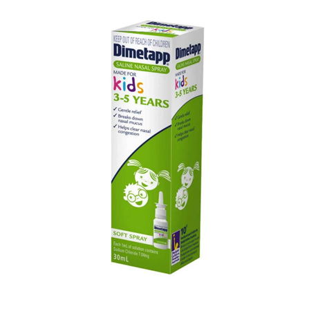 DIMETAPP MADE FOR KIDS SALINE SPRAY 30ML