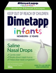 Dimetapp Nasal Drops  0 to 2 years 30ml