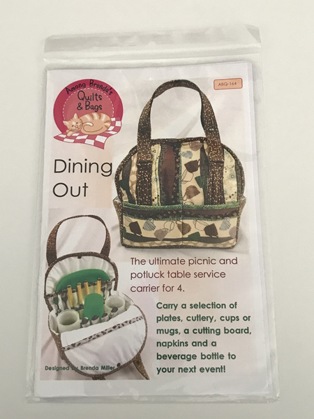 Dining Out from Among Brenda's Quilts & Bags