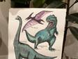 Dino A3 Print