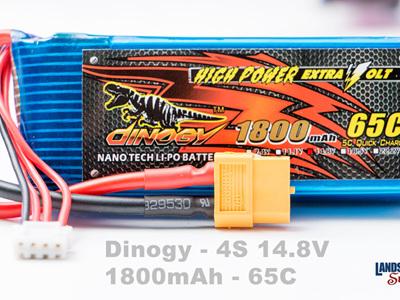 Dinogy 4S 14.8V 1800mAh 65C