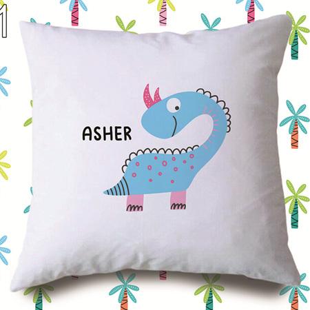 Dinosaur 1  Personalised Cushion Cover