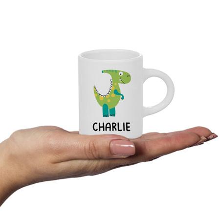 Dinosaur 2 Personalised Fluffy Mug