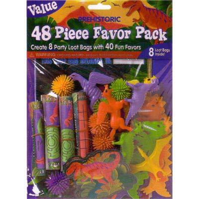 Dinosaur favor pack - value size