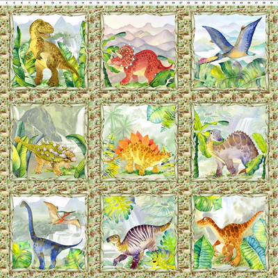 Dinosaur Friends - Panel