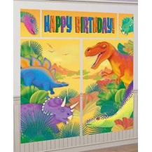 Dinosaur - Happy Birthday Wall Decorating Kit