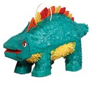 Dinosaur Pinata - Turquoise