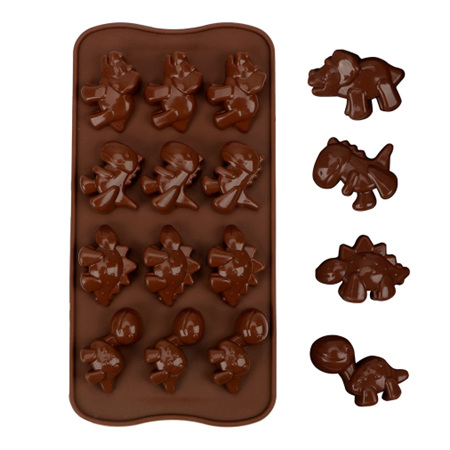 Dinosaur  Shaped Tray Silicone Mould