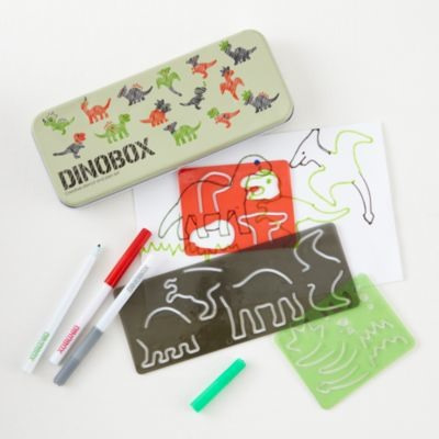 Dinosaur Stencil Box