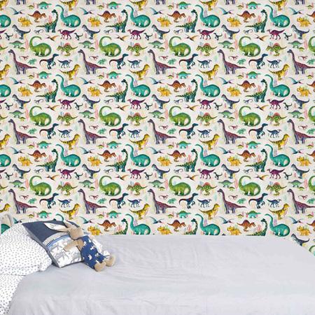 Dinosaur wallpaper bright