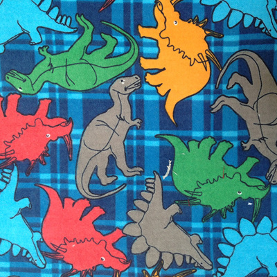 Dinosaurs Printed Wincey