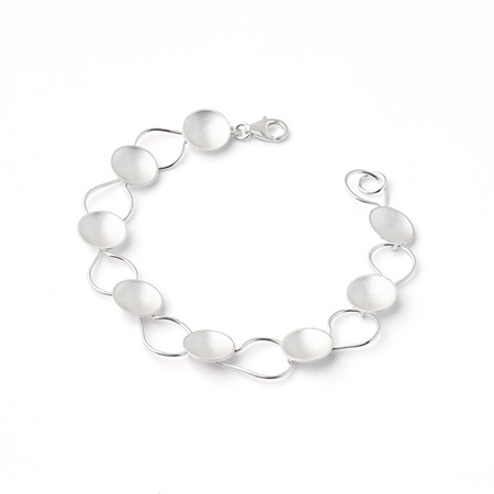 Disc and Wire Bracelet