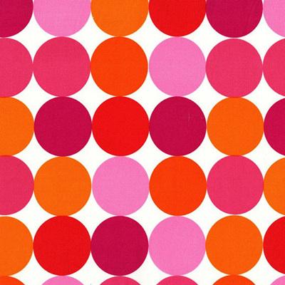 Disco Dot Orange