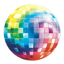 Disco Fever Cutout Disco Ball