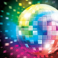 Disco Party Napkins