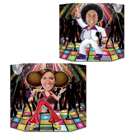 Disco photo prop - 2 sided design