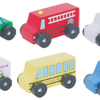 Discoveroo 6 car set