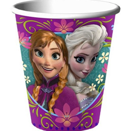 Disney Frozen Cups x 8