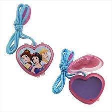 Disney Princess Lip Gloss Necklaces - Pack of 4