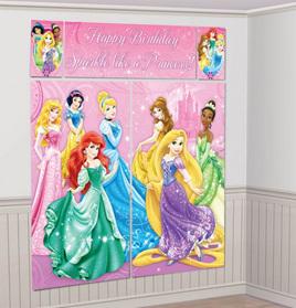 Disney princess sparkle scene setter