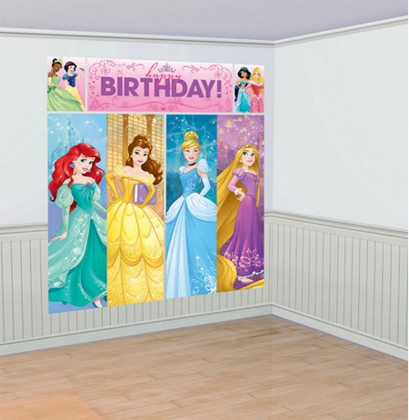 Disney princess sparkle scene setter NEW DESIGN