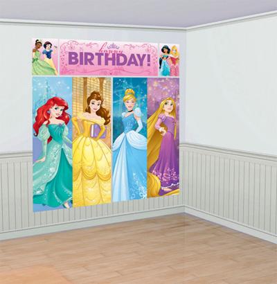 Disney princess sparkle scene setter NEW DESIGN