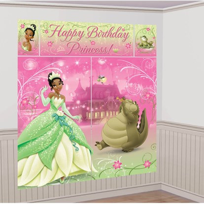 Disney Princess Tiana Wall Decorating Kit