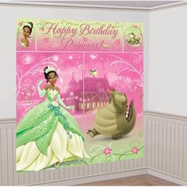 Disney Princess Tiana Wall Decorating Kit