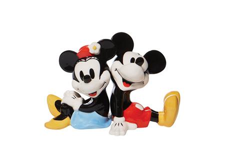 Disney Salt & Pepper Shaker Set Mickey & Minnie