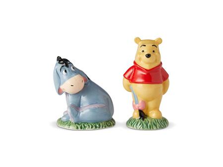 Disney Salt & Pepper Shaker Set Winnie the Pooh & Eeyore